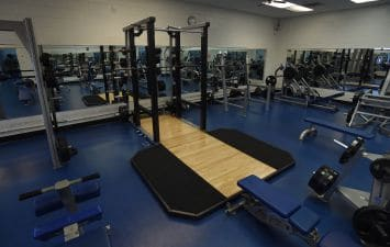 Dead Lift Platform with Power Cage