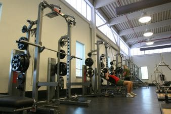 Squat Rack with Spotter Arms